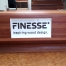 finesse balie hout freesletters