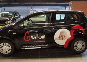 autobelettering fleetmarking welkom kraamzorg