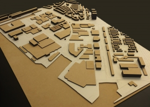 maquette laser architect