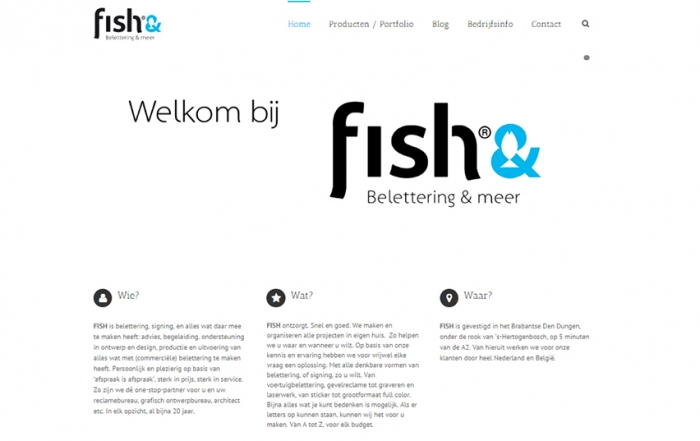 fish belettering website