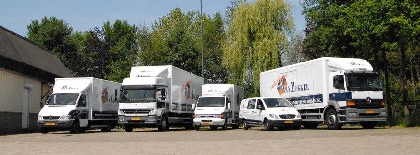 wagenpark vrachtwagen belettering