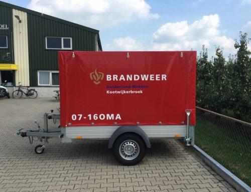 Oefen aanhangers brandweer Gelderland-Midden